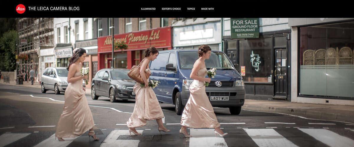Wayfinder Thumb Bridesmaids Crossing London Street Leica Blog By Brett Photographer