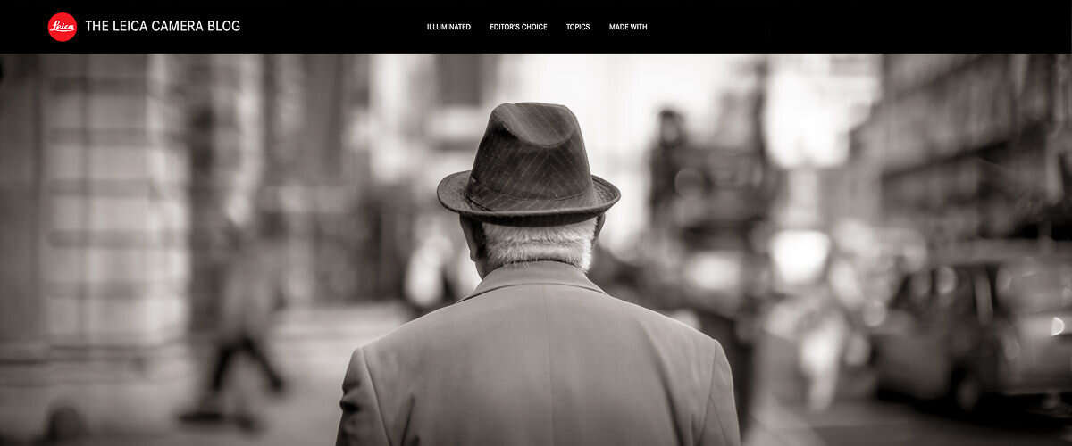 Wayfinder Thumb Lonely Man Walking London Street Leica Blog By Brett Photographer