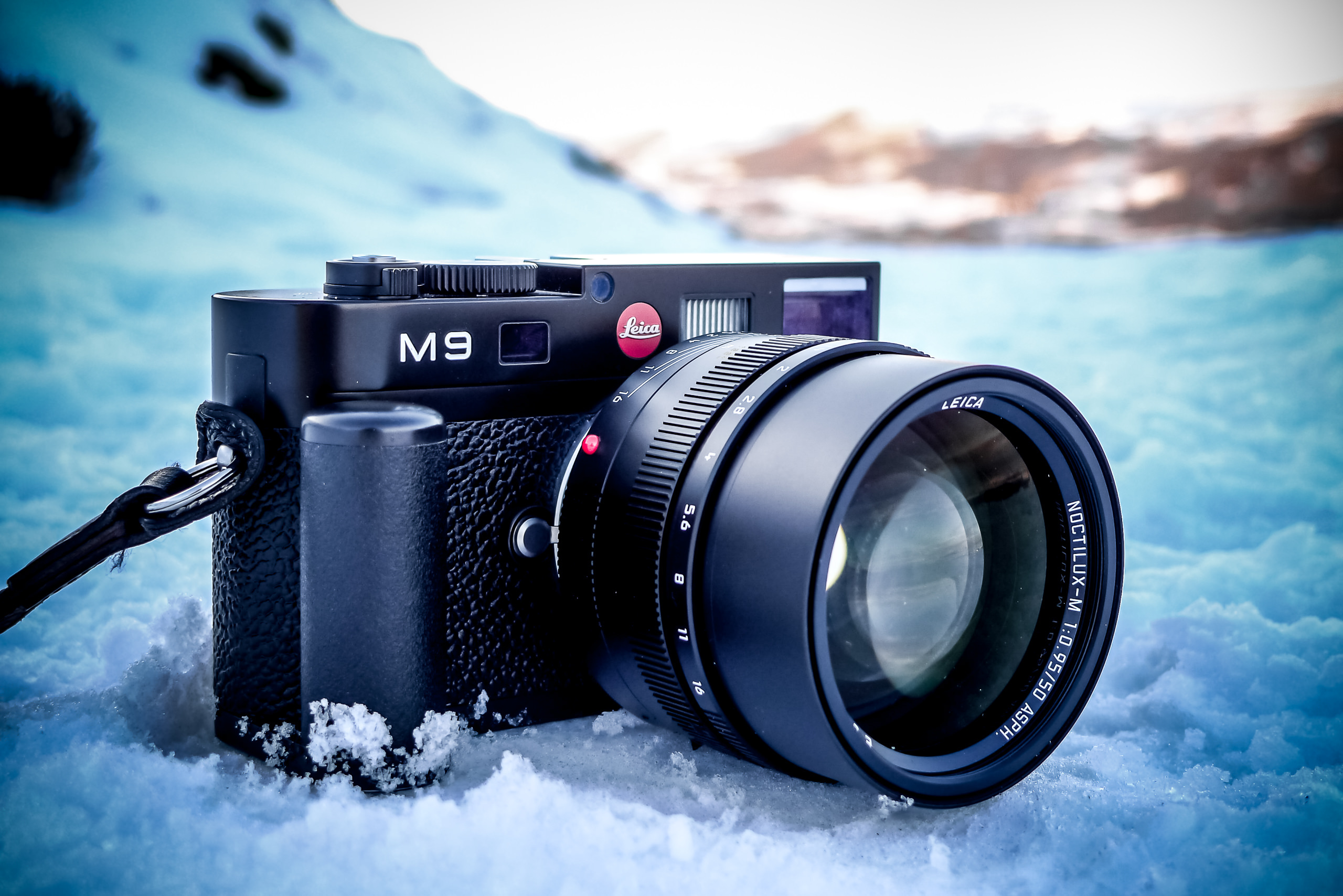 Elements Gallery M9 Camera Noctilux Snow By Brett Leica Photographer