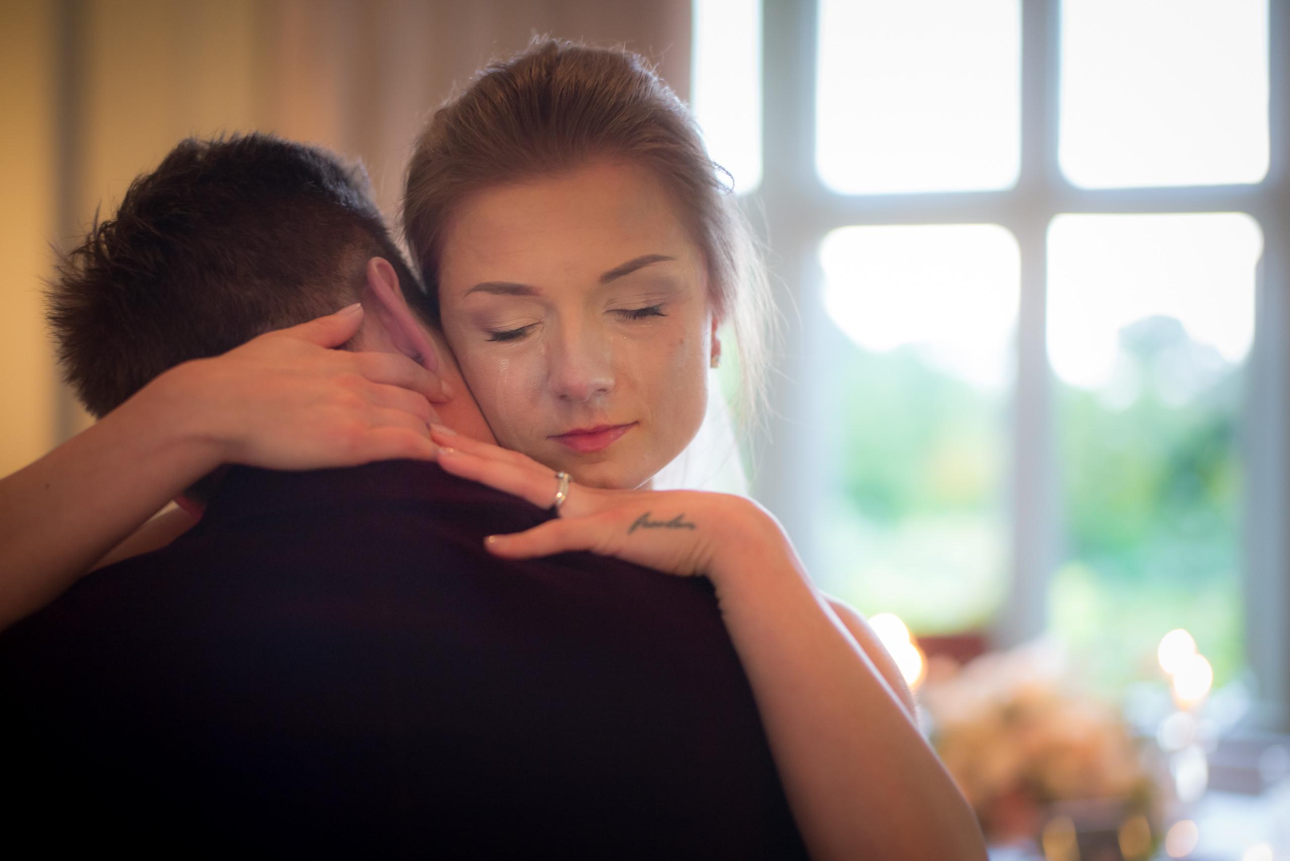 Wedding Portfolio Bride Groom Tears First Dance Married By Brett Leica Photographer