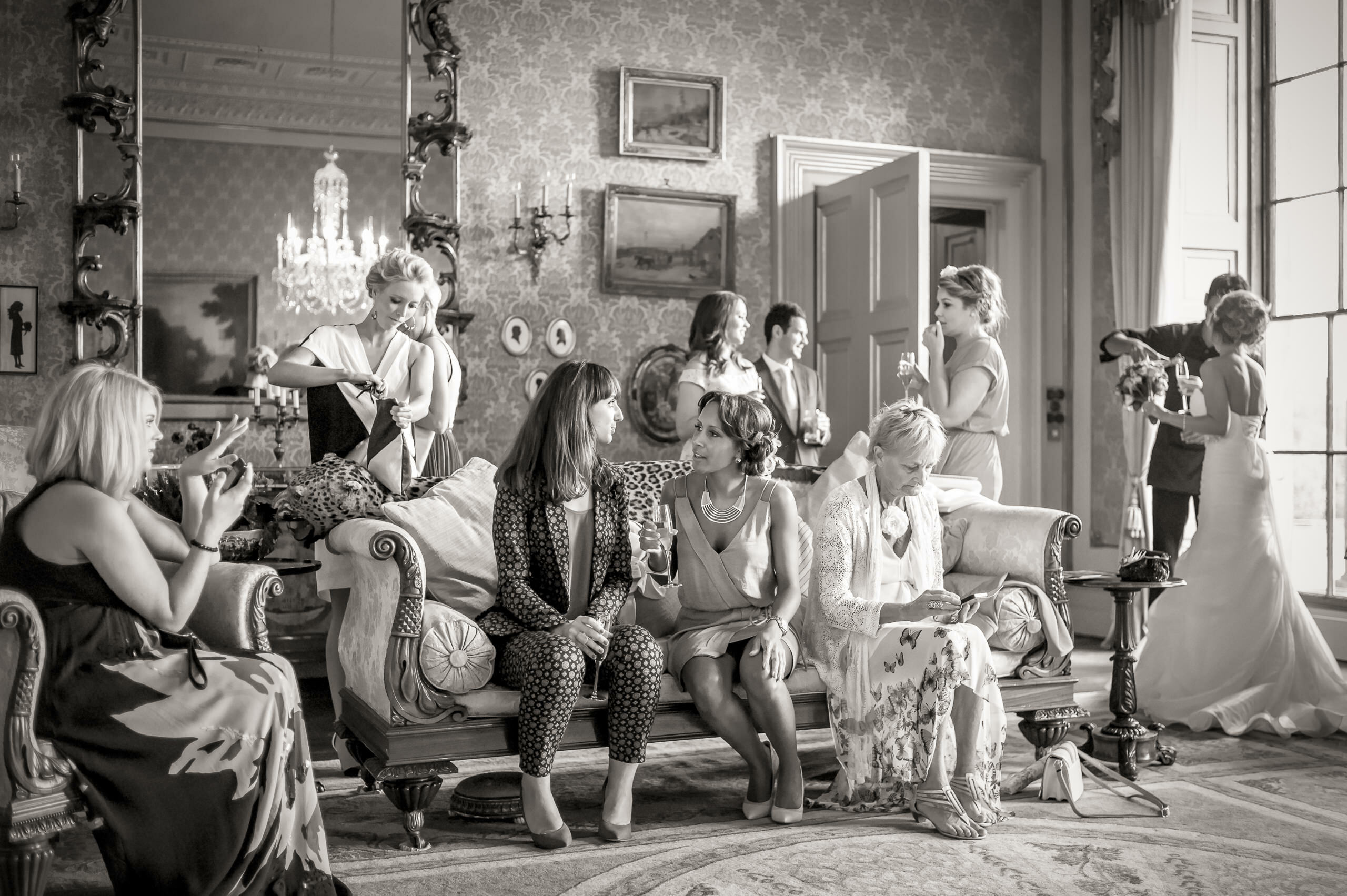Wedding Portfolio Reportage Chillington Hall Reception By Brett Leica Photographer