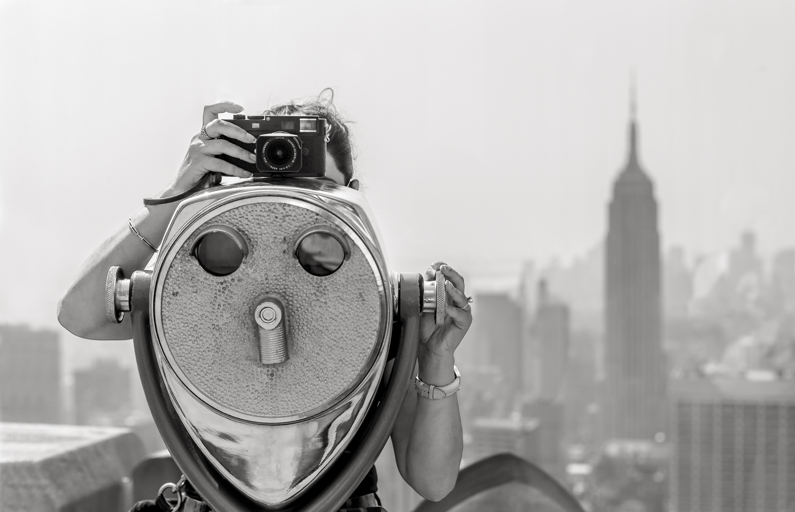 Workshop Gallery Top Of The Rock New York Usa By Brett Leica Photographer