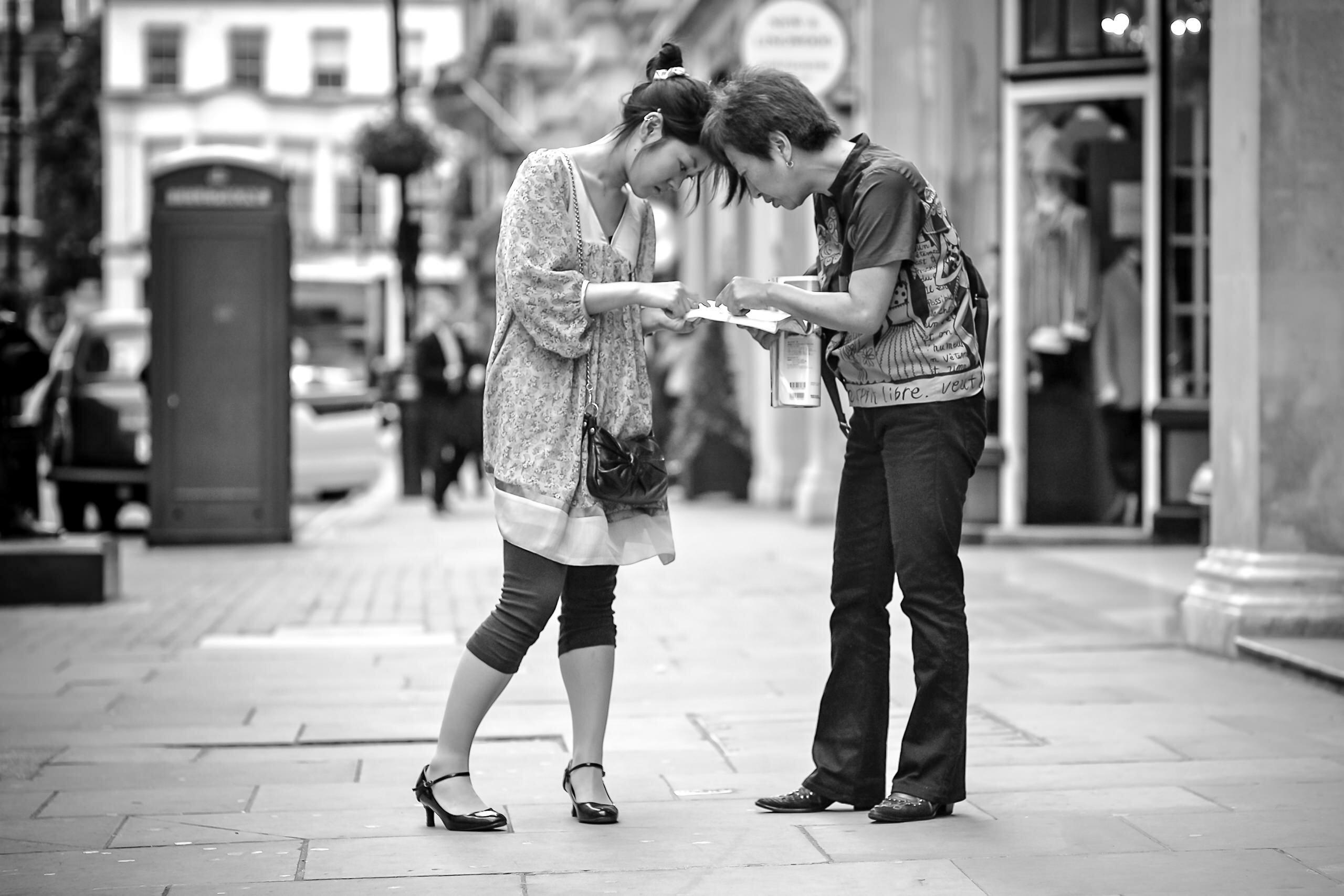 Workshop Portfolio London Tourists Jermyn Street By Brett Leica Photographer