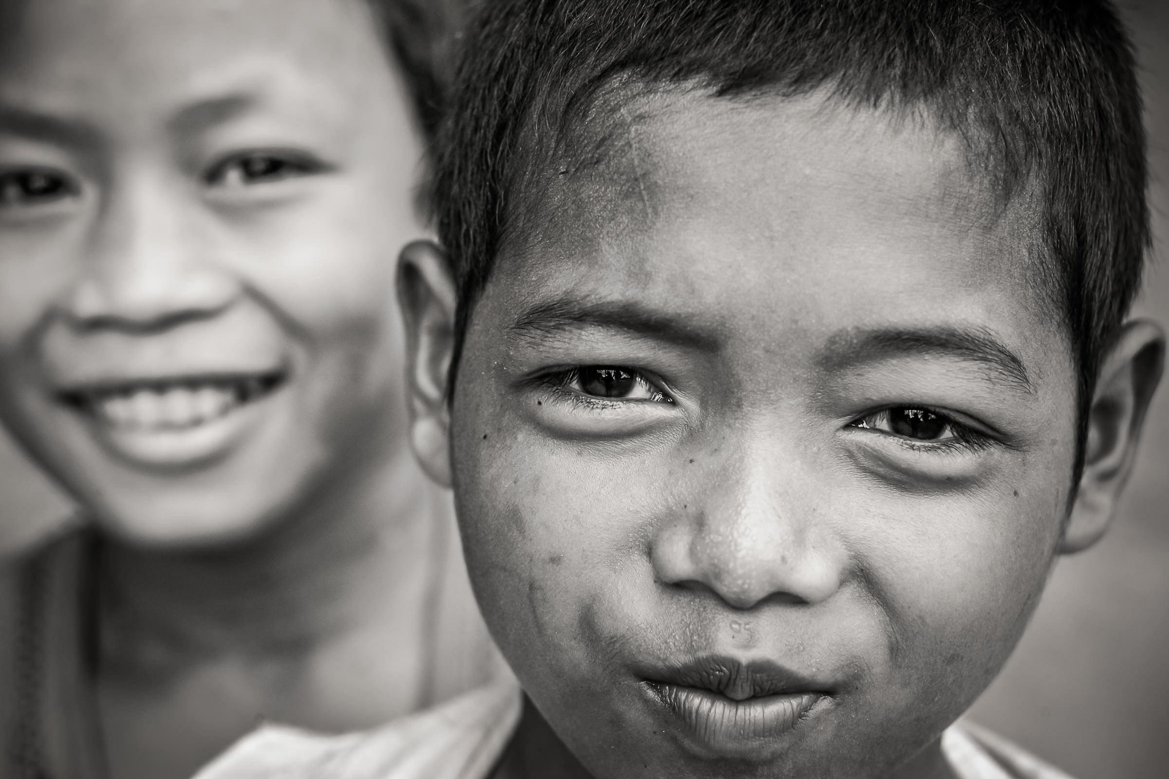 World Portfolio Cambodia Boys Portrait Angkor Wat By Brett Leica Photographer