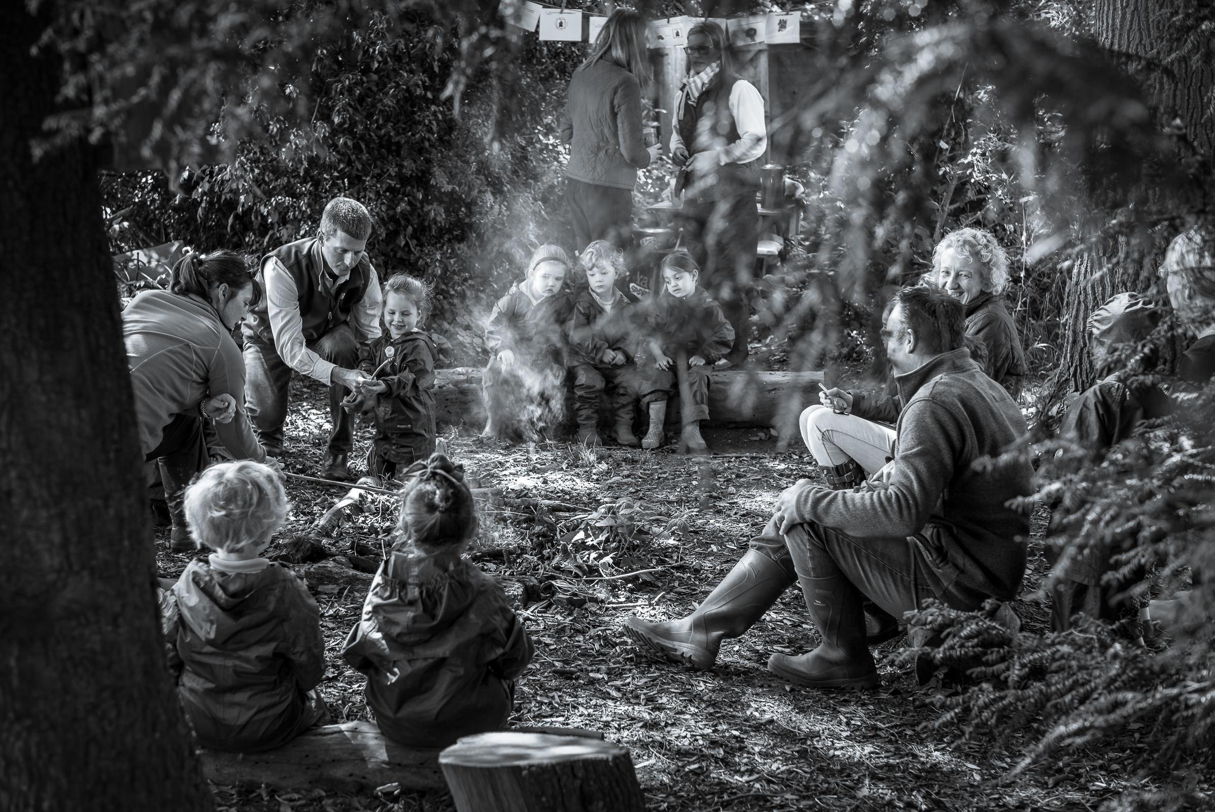 World Portfolio Forest School Children Camp By Brett Leica Photographer