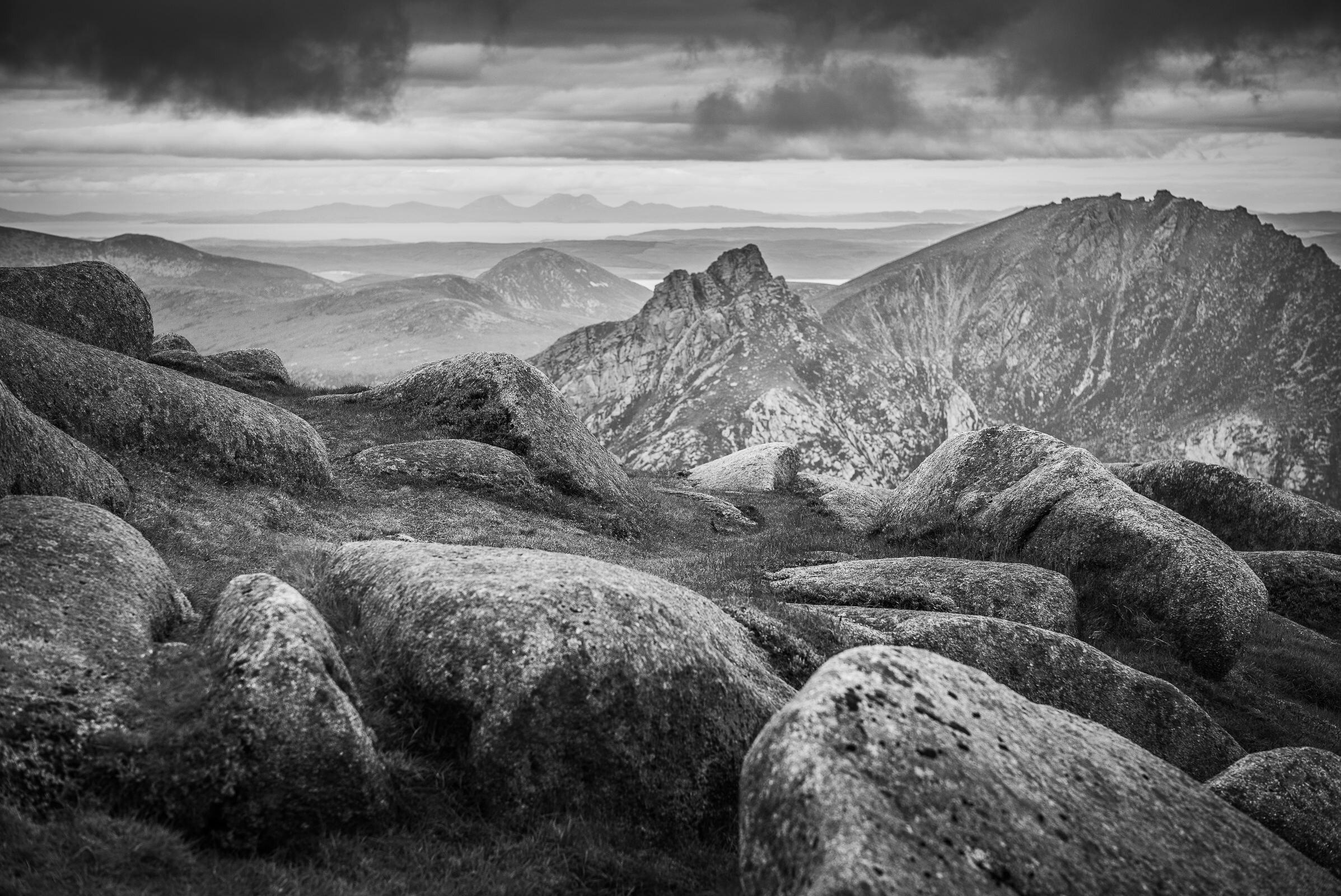 World Portfolio Goatfell Isle Of Arran By Brett Leica Photographer
