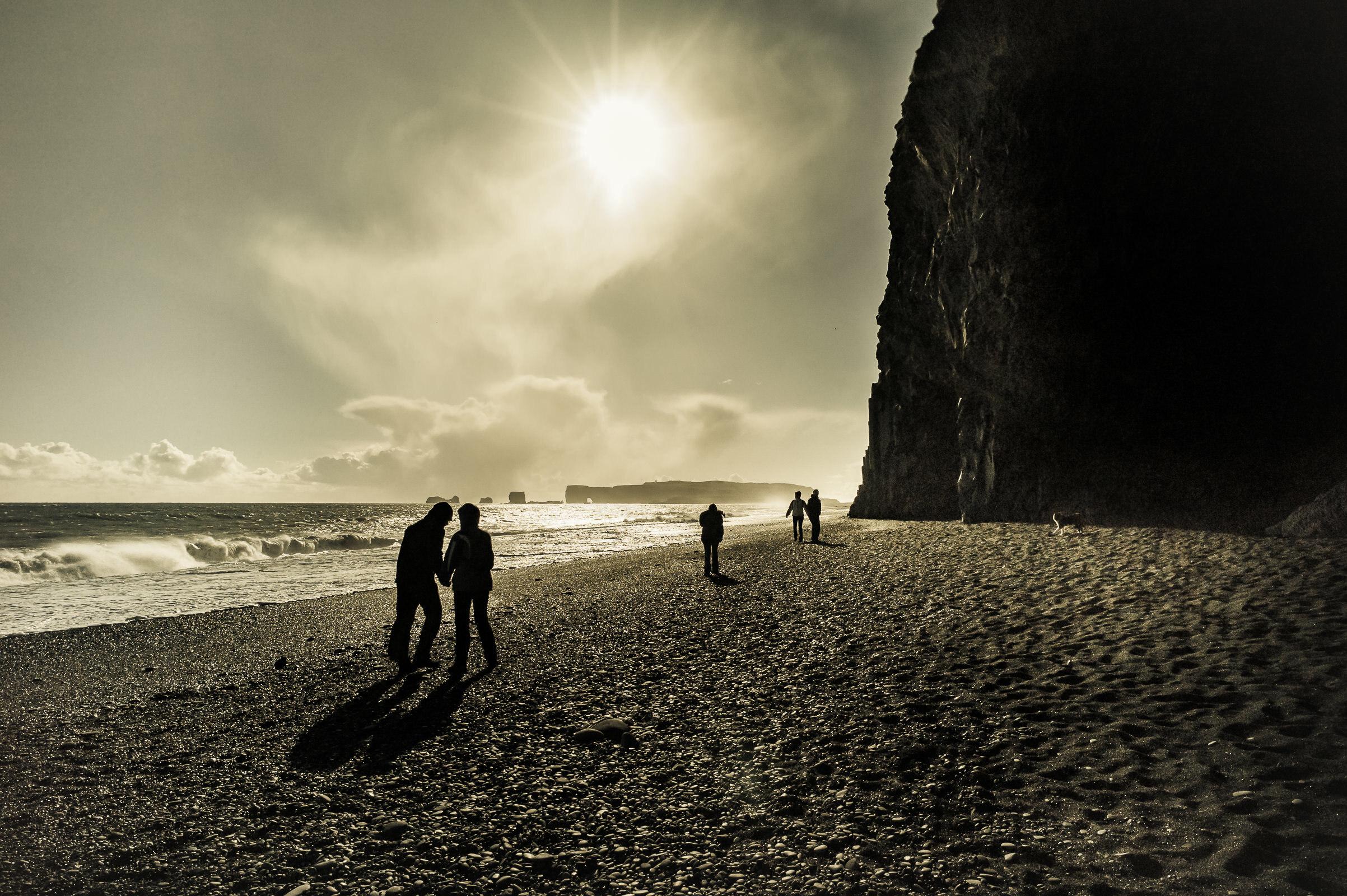 World Portfolio Iceland Reynisfjara Black Sand Beach By Brett Leica Photographer