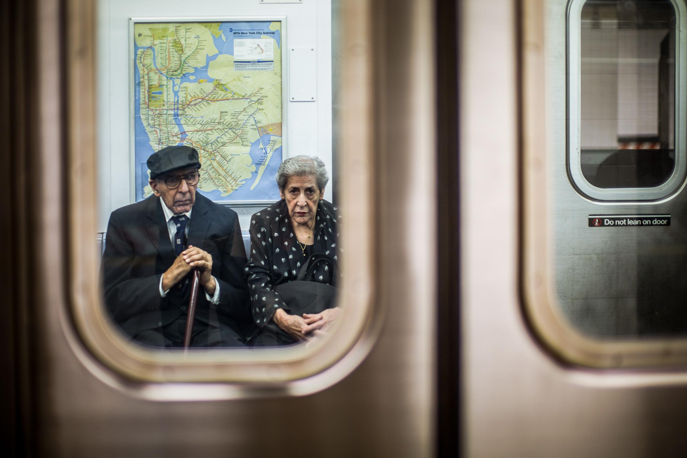 World Portfolio New York Subway Passengers By Brett Leica Photographer