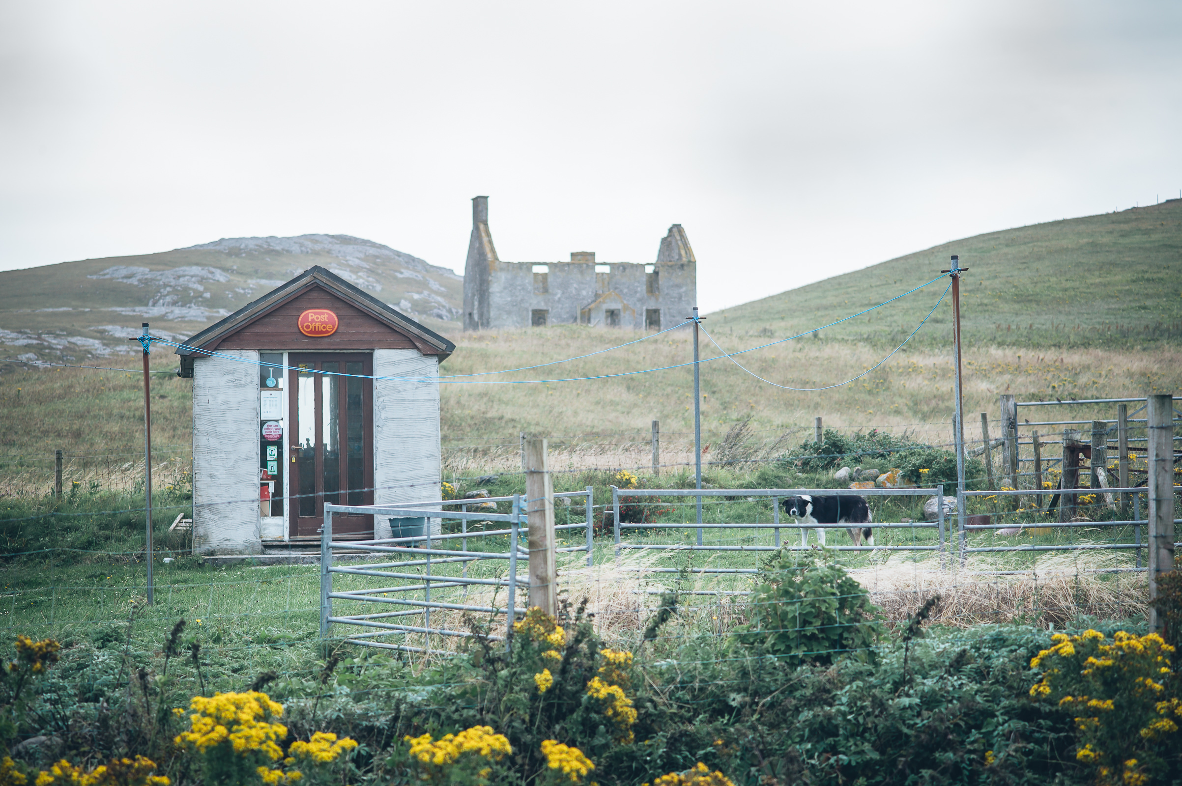World Portfolio Vatersay Post Office Outer Hebrides By Brett Leica Photographer