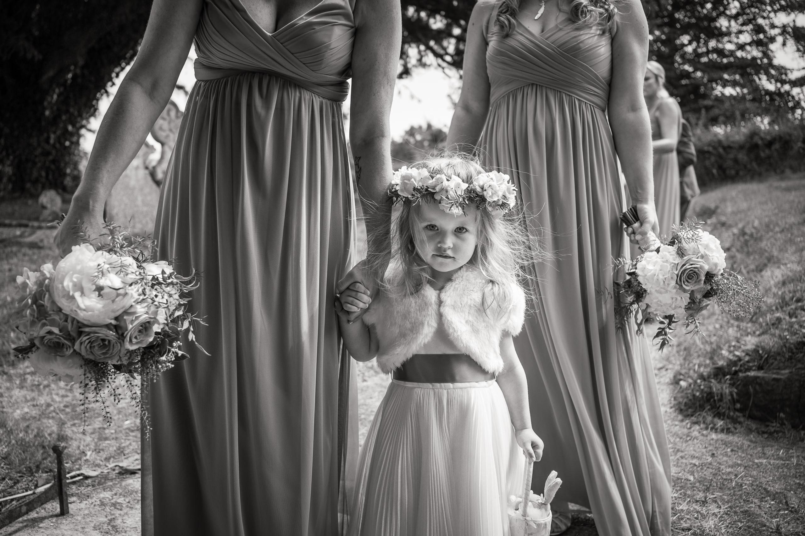 Wayfinder Photo Bio Flower Girl Bridesmaids Wedding By Brett Leica Photographer