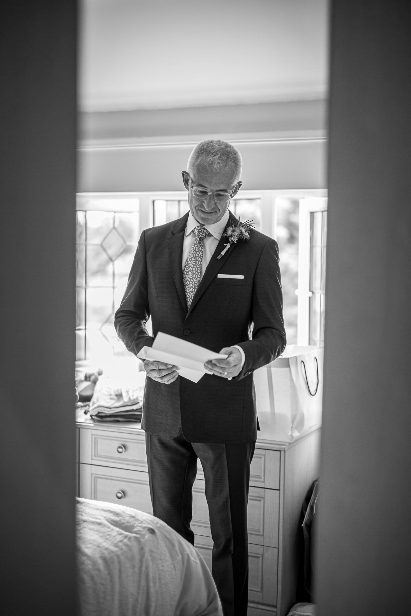 Wedding Gallery In The Village Father Speech House By Brett Leica Photographer