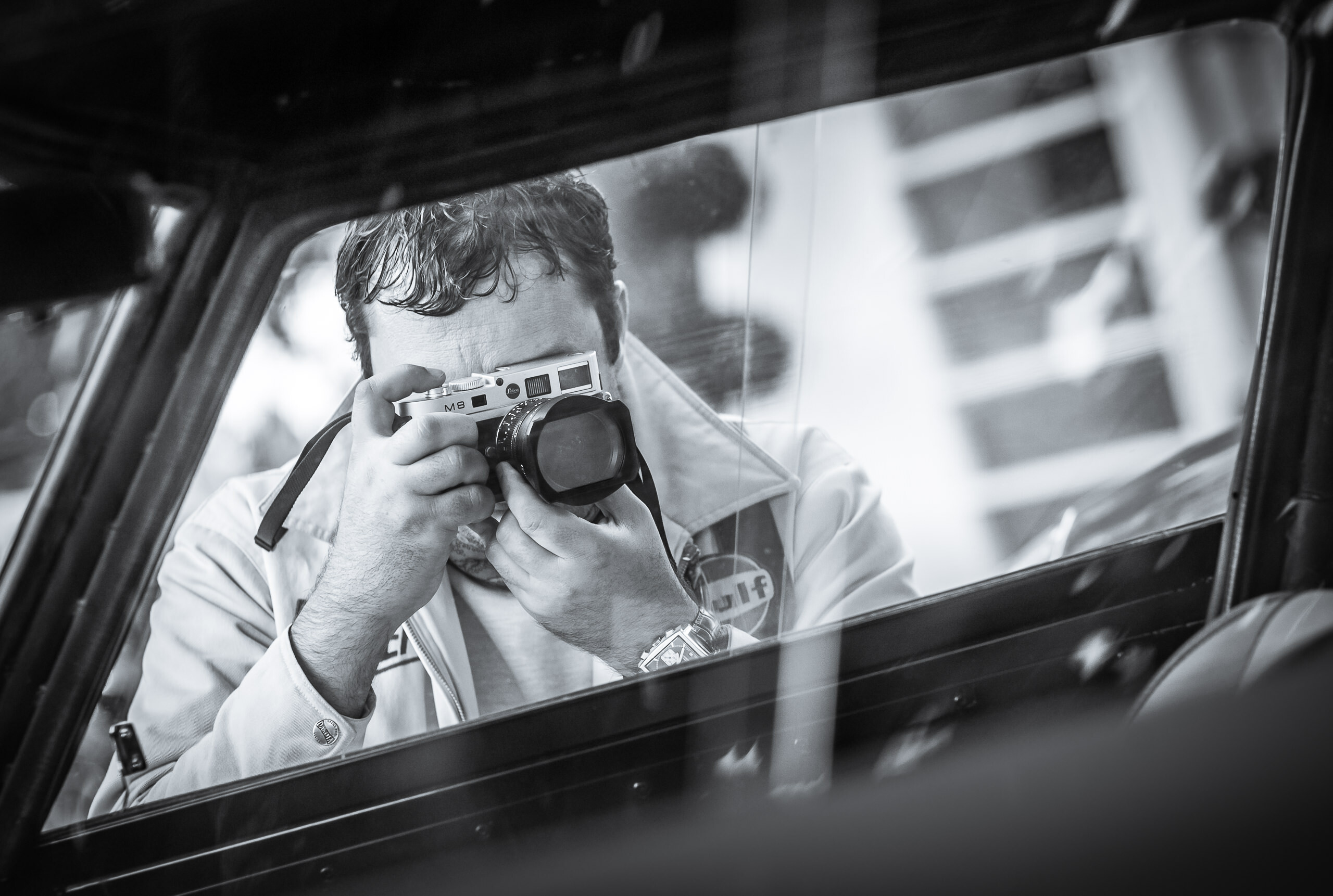 Wayfinder Workshop 21Mm Summilux Goodwood Revival M8 Window By Brett Leica Photographer