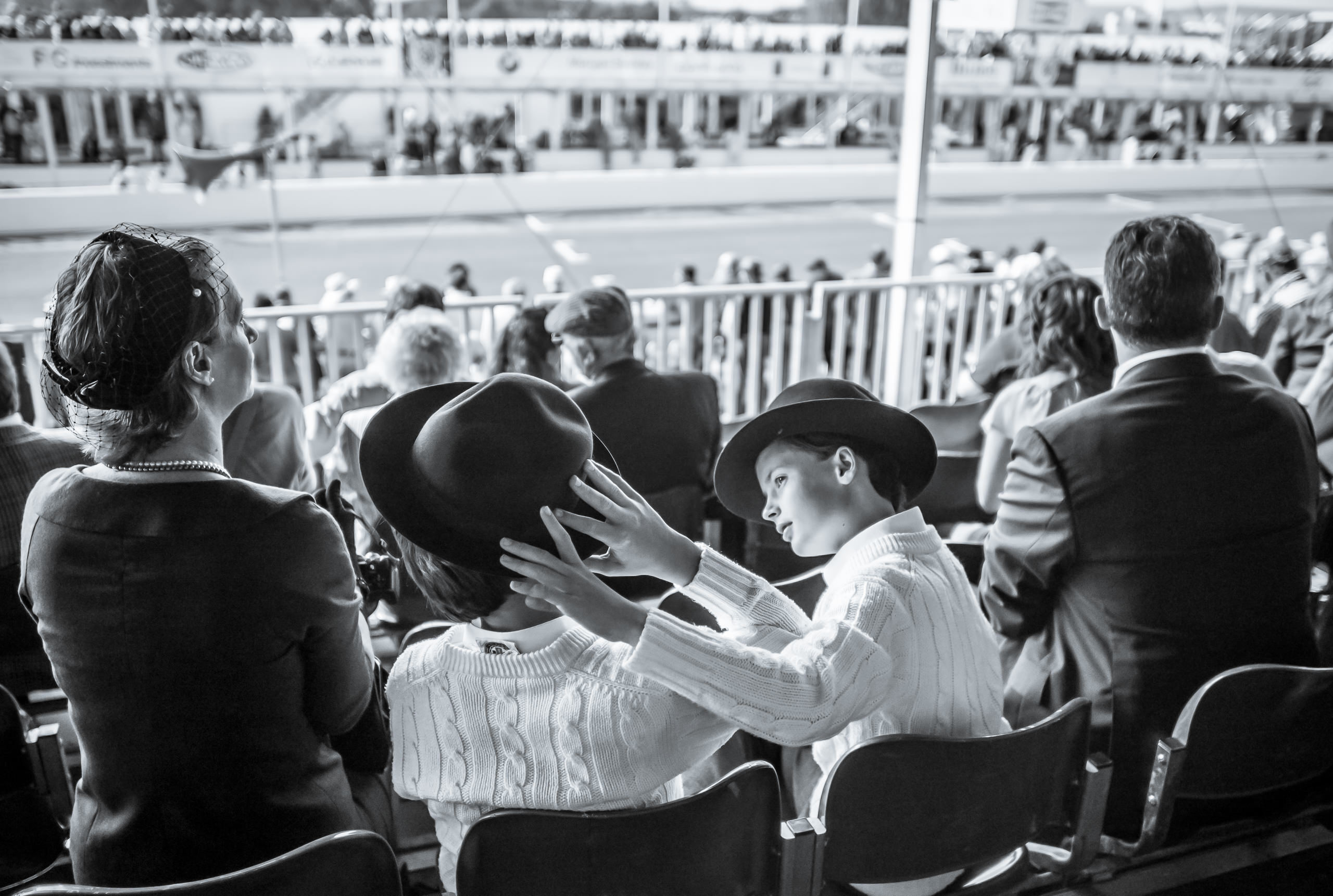 Wayfinder Workshop 21Mm Summilux Goodwood Revival Grandstand Boy Hat By Brett Leica Photographer