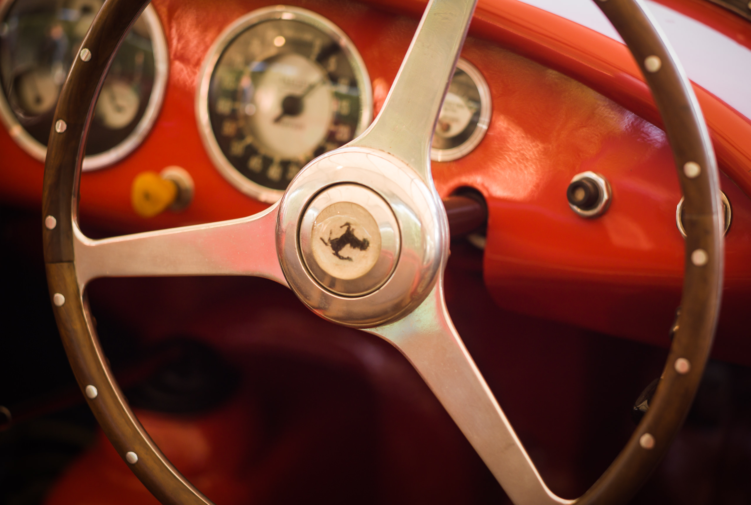 Wayfinder Workshop Goodwood Revival 75Mm Summicron Ferrari Steering Wheel By Brett Leica Photographer
