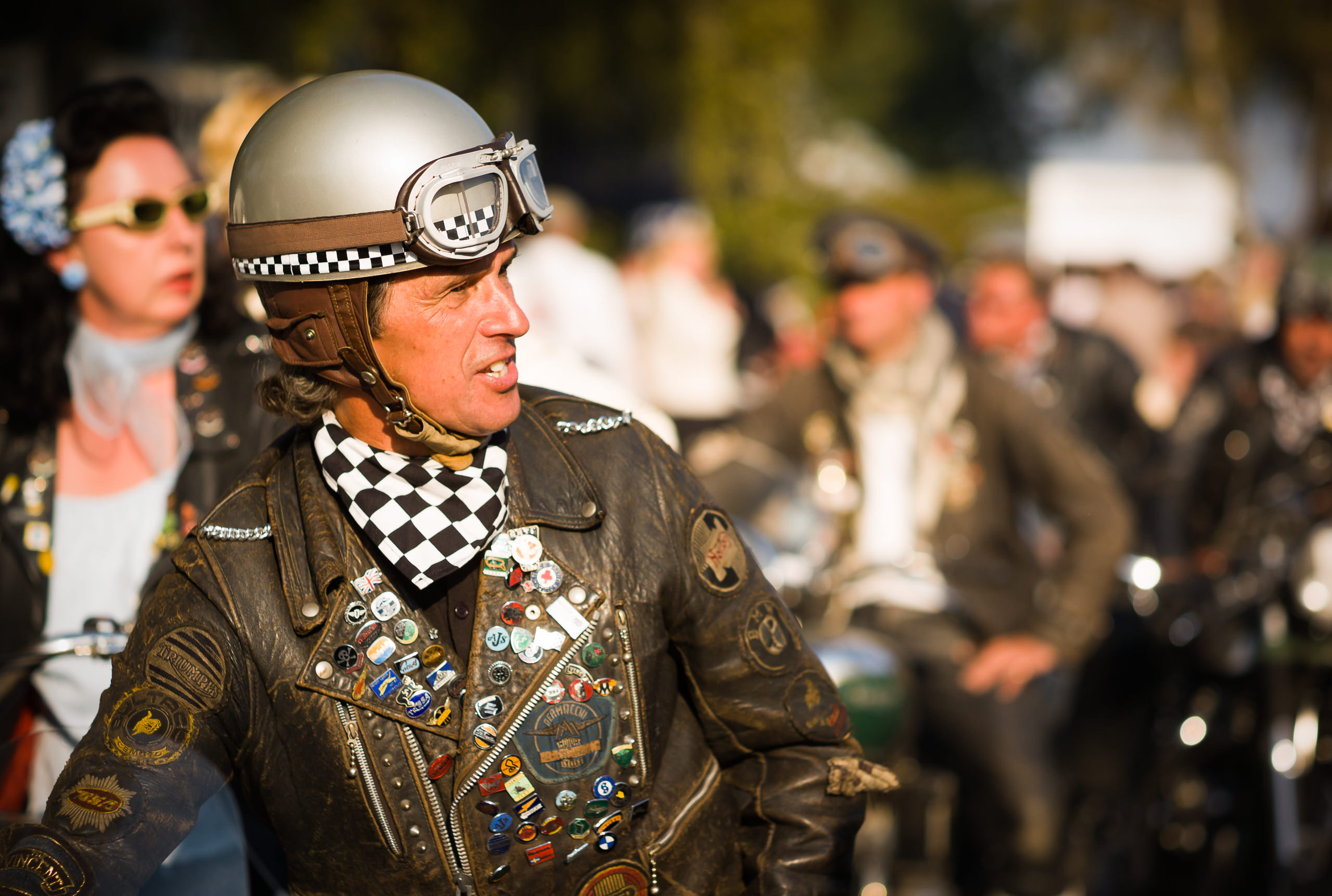 Wayfinder Workshop Goodwood Revival 75Mm Summicron Motor Cyclist By Brett Leica Photographer