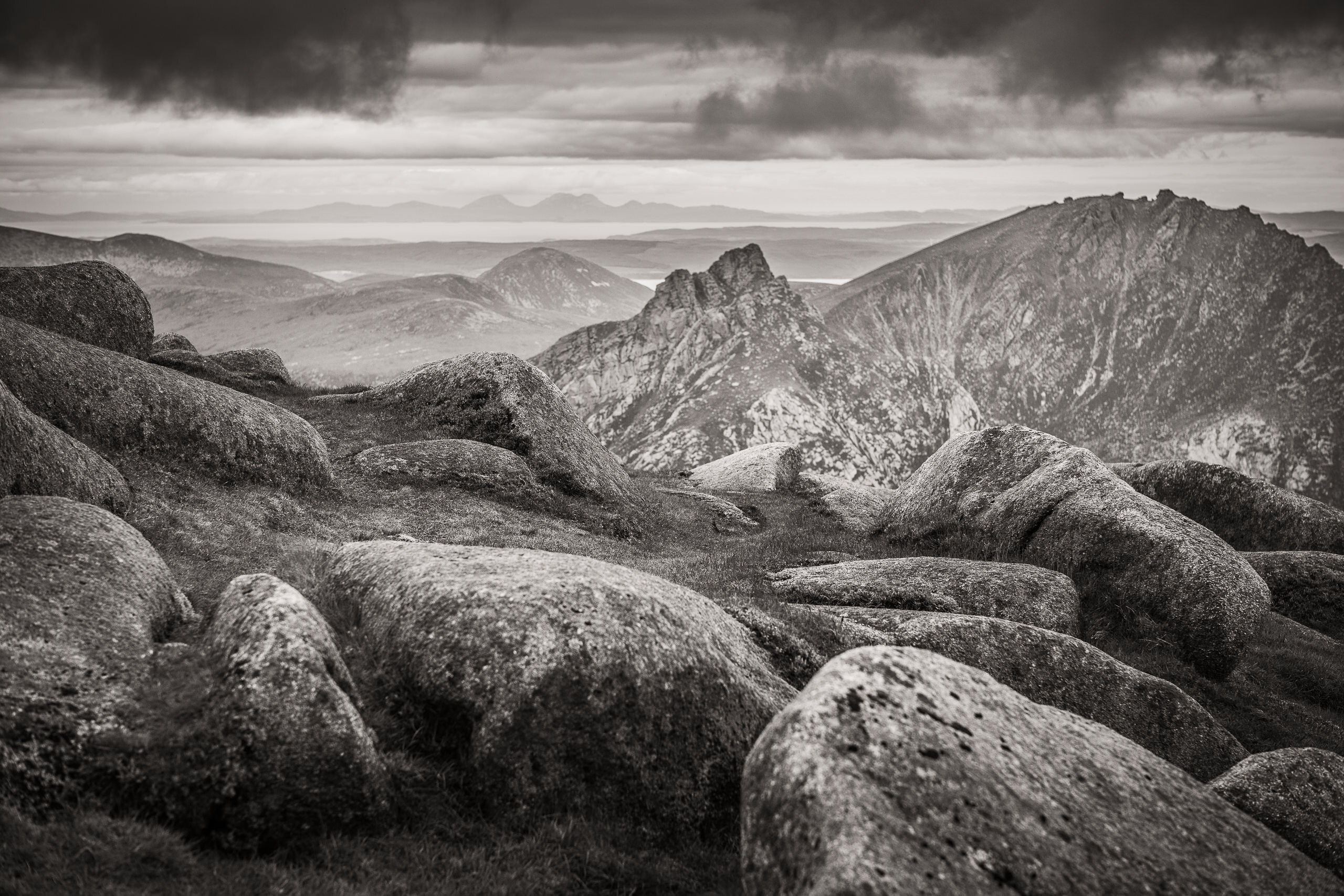 Workshop Gallery About Goatfell Isle Of Arran By Brett Leica Photographer